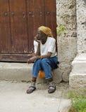 Femme cubain Images stock