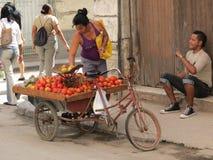 Femme cubain Images libres de droits