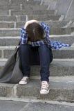 femme déprimé Photographie stock libre de droits