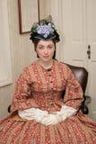 Femme d'ère de guerre civile Image stock