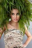 Femme d'écologie, concept vert photographie stock libre de droits