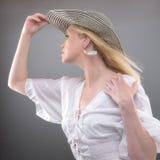 Femme d'été Images stock