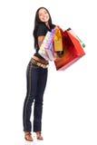Femme d'achats Photographie stock libre de droits