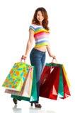 femme d'achats Images stock