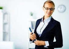 Femme d'affaires élégante Photos stock