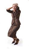 Femme d'affaires étonnante Photo libre de droits