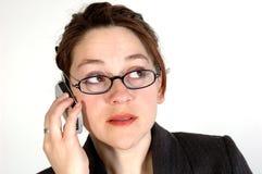 Femme 6 d'affaires Image libre de droits