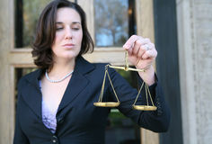 Femme d'affaires Photographie stock libre de droits
