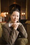 Femme d'affaires. Photo stock