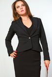 Femme d'affaires. Photos stock