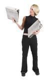 Femme d'affaires #47 Image libre de droits