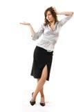 Femme d'affaires. images stock