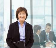 Femme d'affaires aînée Image stock