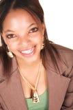 Femme d'affaires africaine Images libres de droits
