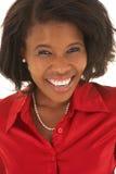 Femme d'affaires africaine Image stock