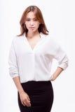 Femme d'affaires américaine asiatique sûre Photo libre de droits
