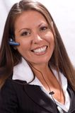 Femme d'affaires amicale Photos stock