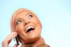 Femme d'affaires arabe photo stock