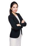 Femme d'affaires asiatique photographie stock libre de droits