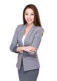 Femme d'affaires asiatique images stock