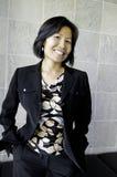 Femme d'affaires asiatique Photos libres de droits