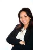 Femme d'affaires asiatique confiante Image stock