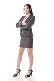 Femme d'affaires asiatique sûre Image stock