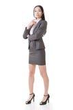 Femme d'affaires asiatique sûre Photo libre de droits