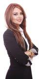 Femme d'affaires attirante Image stock