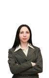 Femme d'affaires attirante photographie stock libre de droits
