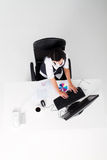 Femme d'affaires au travail Photographie stock libre de droits