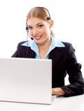 femme d'affaires blonde Image libre de droits