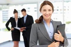 Femme d'affaires confiante Photographie stock