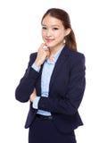 Femme d'affaires confiante Images stock