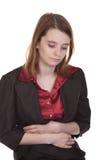 Femme d'affaires - défectuosité de sensation Images libres de droits