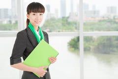 Femme d'affaires d'Eco Images stock