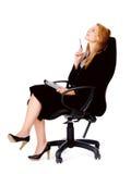 Femme d'affaires d'idée photographie stock