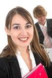 Femme d'affaires dans un bureau photographie stock libre de droits