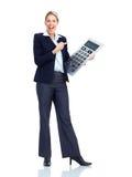 Femme d'affaires de comptable Photo libre de droits