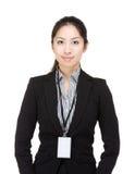 Femme d'affaires de l'Asie image libre de droits