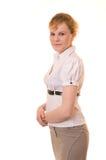 Femme d'affaires de Portpait Photographie stock