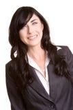 Femme d'affaires de sourire Image stock