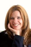 Femme d'affaires de sourire photos stock