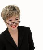Femme d'affaires de sourire photo stock