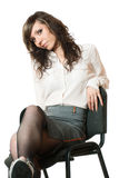 Femme d'affaires de Yound. Photographie stock libre de droits