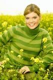 Femme d'affaires extérieure Photo stock