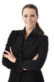 Femme d'affaires gaie image libre de droits
