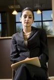 Femme d'affaires hispanique Photographie stock libre de droits