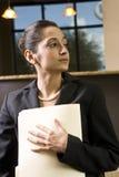 Femme d'affaires hispanique Images libres de droits