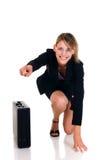 femme d'affaires joyeuse Photos libres de droits